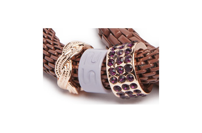 THE SNAKE STRASS BRACELET | WARM ME UP WITH COGNAC & CLOVER