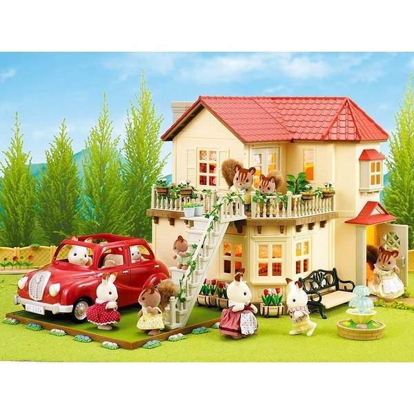 Sylvanian Families Villa met Lichtjes