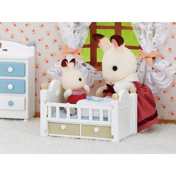 Sylvanian Families Chocolade Konijn Baby Set