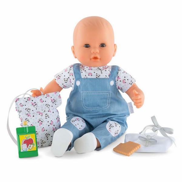 Babypop Gaby naar de Crèche
