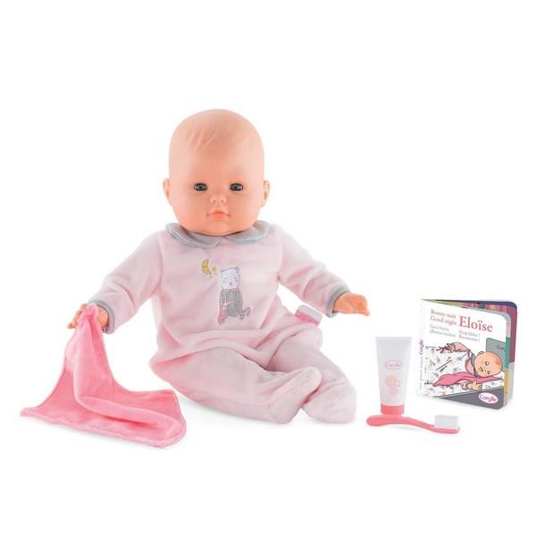 Babypop Eloise gaat naar Bed
