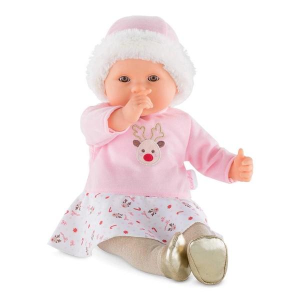 Babypop Vrolijk Rendier