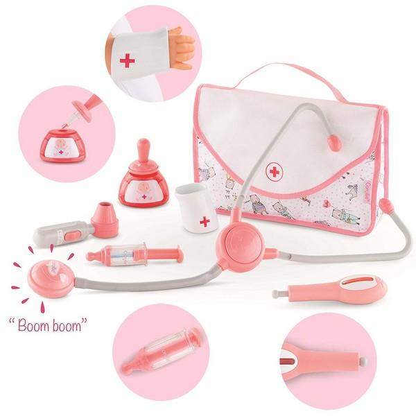 Baby's Dokter accessoireset 7-delig (36/42 cm)