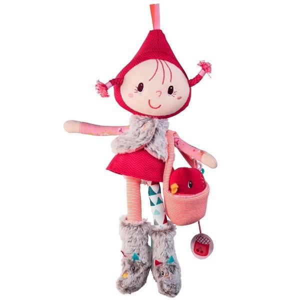 Speelset koffertje minipopje Roodkapje