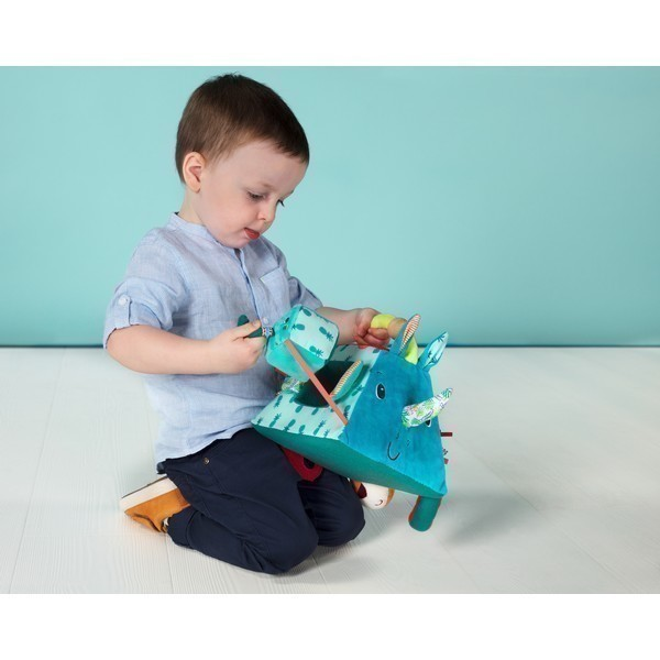 Stoffen Speelset Piramide neushoorn Marius