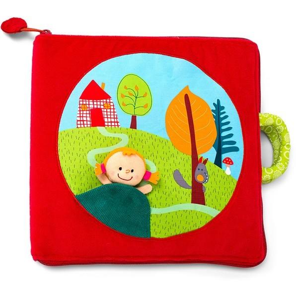 Babyboek stof Roodkapje
