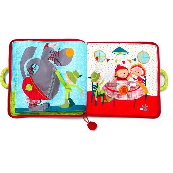 Babyboek stof Sprookje Roodkapje