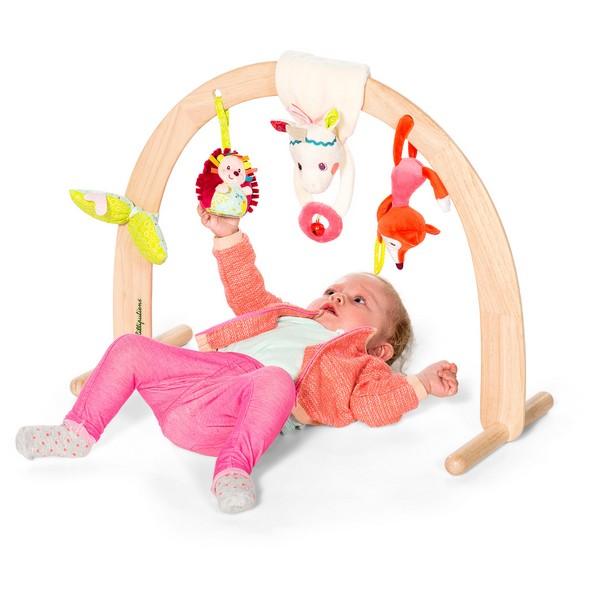 Set met Hangfiguren stof eenhoorn Louise