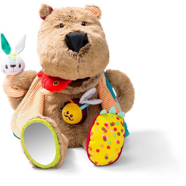 Speelfiguur gulzige beer César