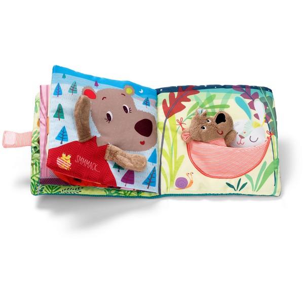 Babyboek stof Welterusten beertje César