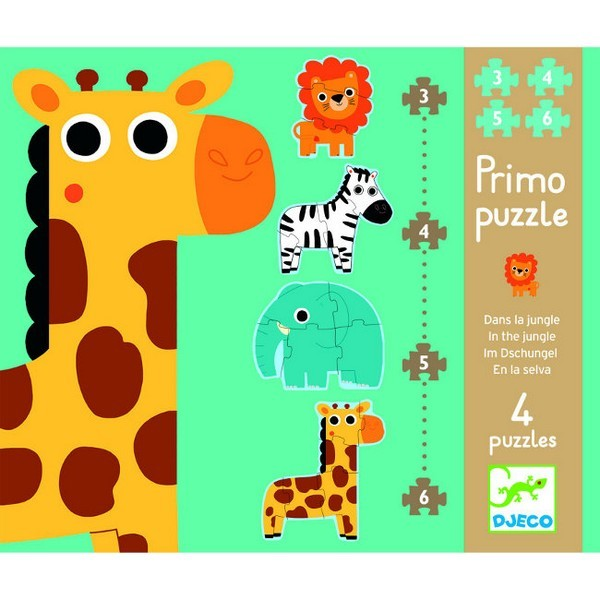 Eerste Puzzels In de Jungle