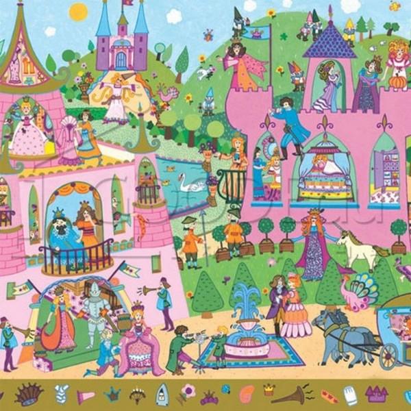Zoekpuzzel Prinsessen
