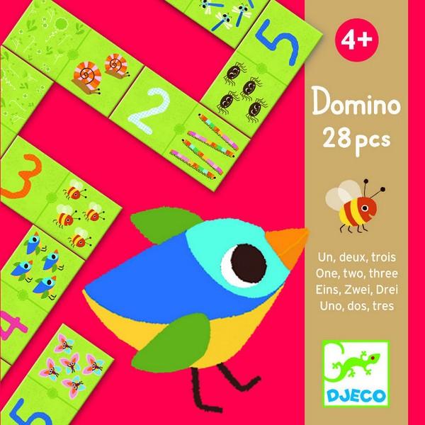 Domino Een, Twee, Drie