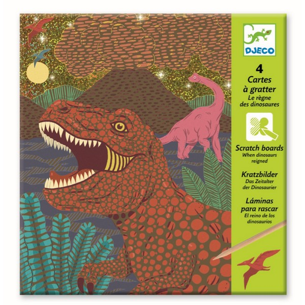 Krasfolie Dinosauriërs