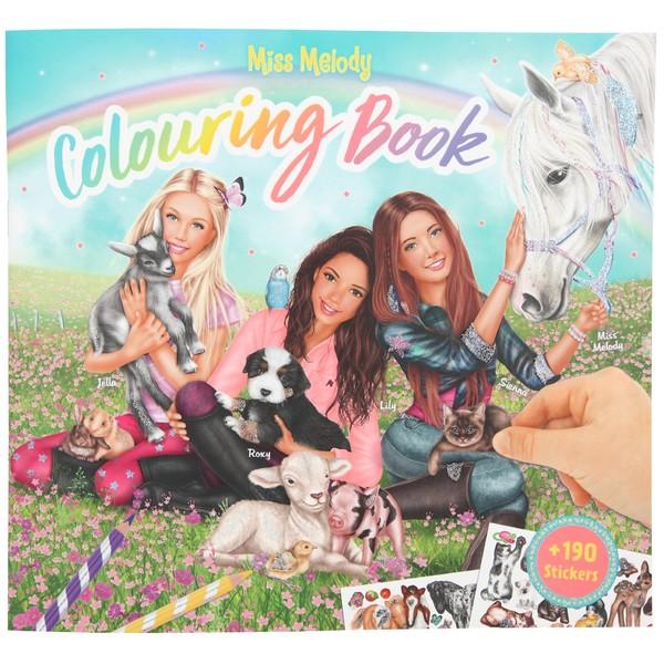 Kleurplaten Topmodel Paarden.Depesche Miss Melody Kleurboek Lily