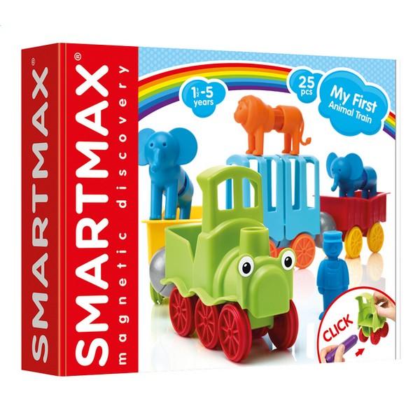 SmartMax Mijn eerste Dierentrein Speelset