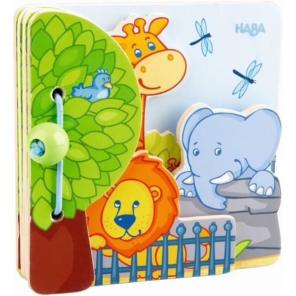 Babyboek hout Zoovrienden