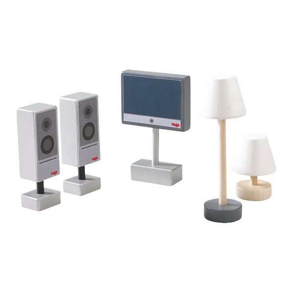Little Friends Accessoireset Televisie & Lampen
