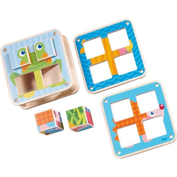 Blokpuzzel Tuindieren