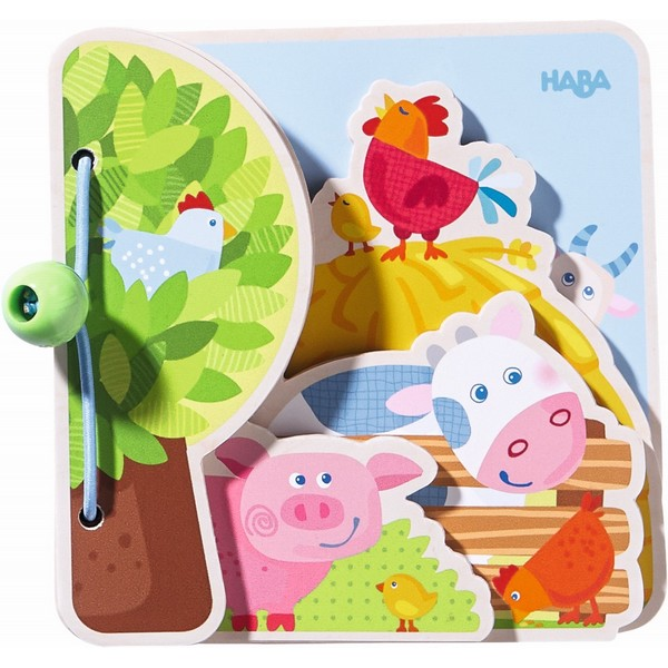 Babyboek hout Boerderijvrienden