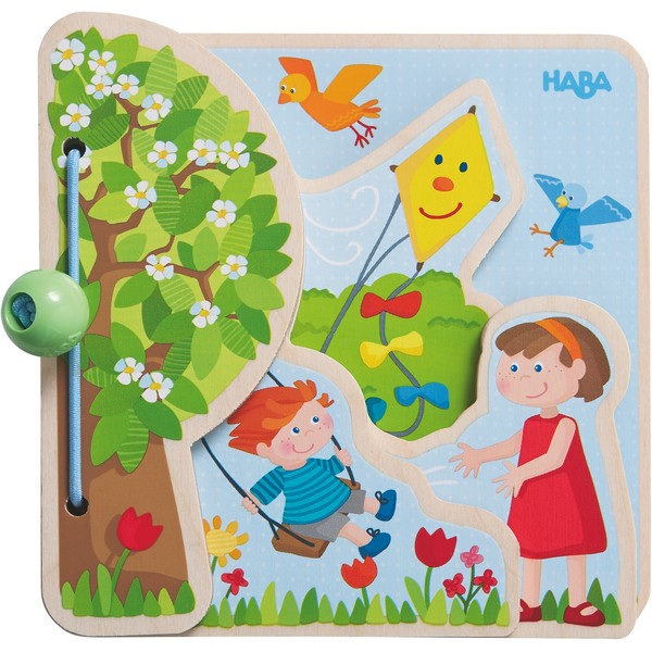 Babyboek hout Vier Seizoenen