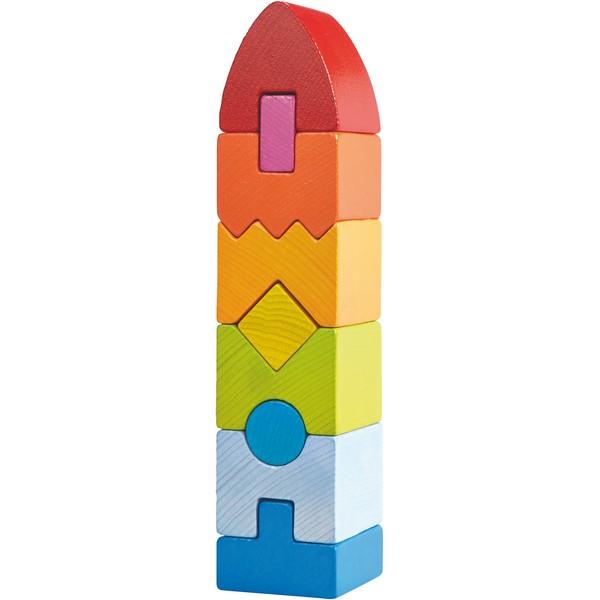 Stapelspel Regenboogtoren