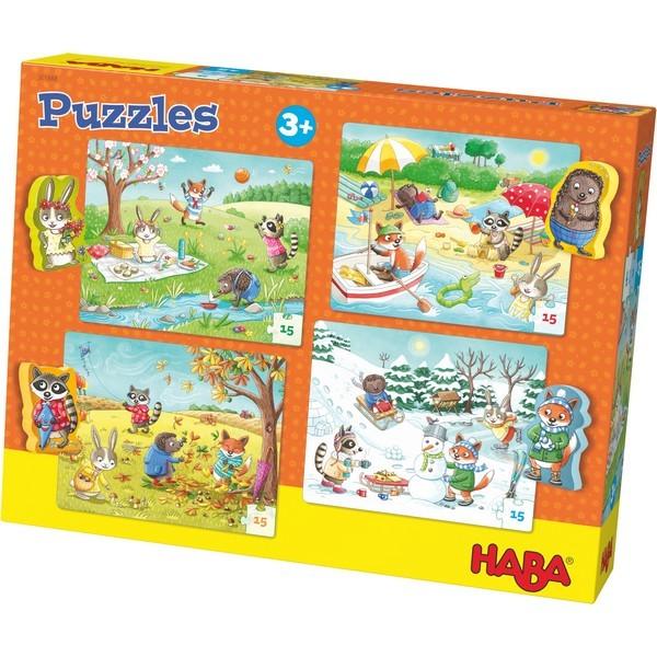 4-in-1-Puzzel De Seizoenen