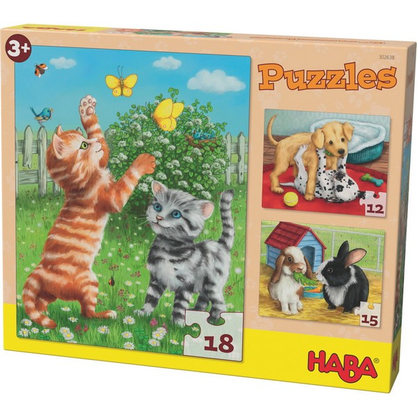 Puzzels Huisdieren