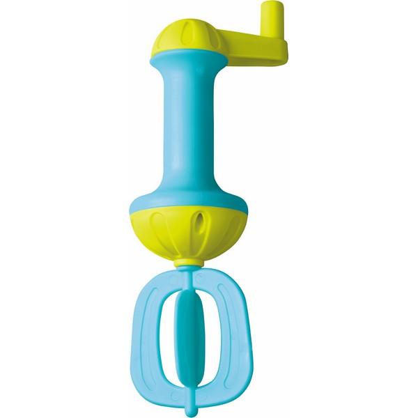 Badschuimklopper blauw