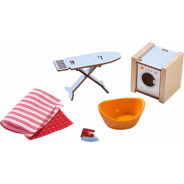 Little Friends Poppenhuis Accessoireset Wasmachine