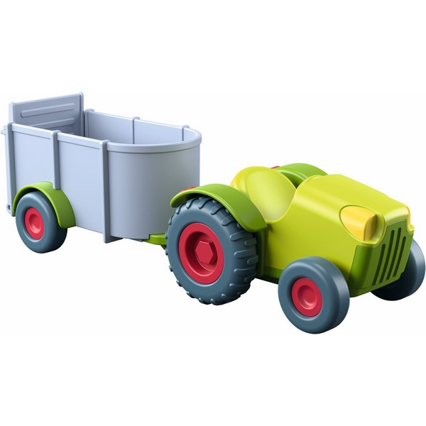Little Friends voertuig Tractor met Aanhangwagen