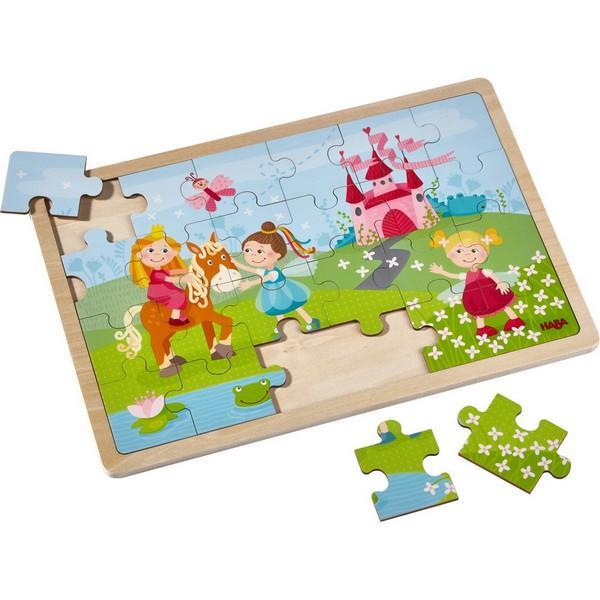 Houten Puzzel Prinsessen