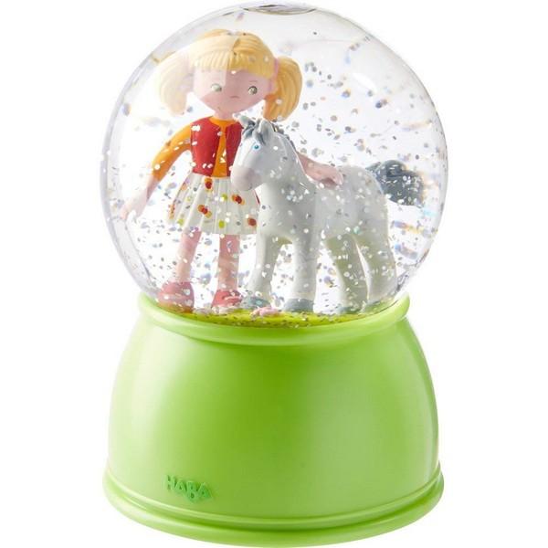 Nachtlamp Sneeuwbol Paardengeluk