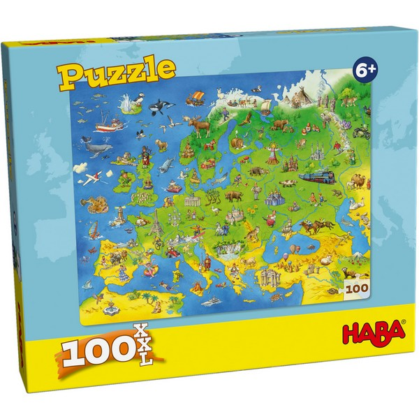 XXL Puzzel Landen van Europa