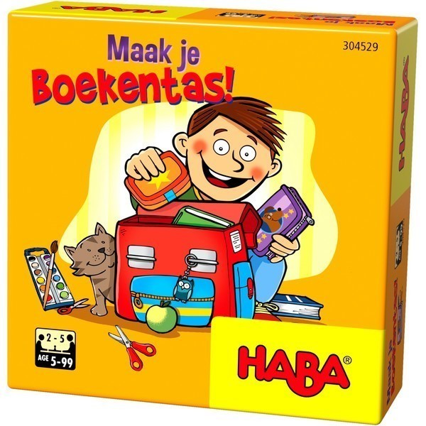 Maak je Boekentas!