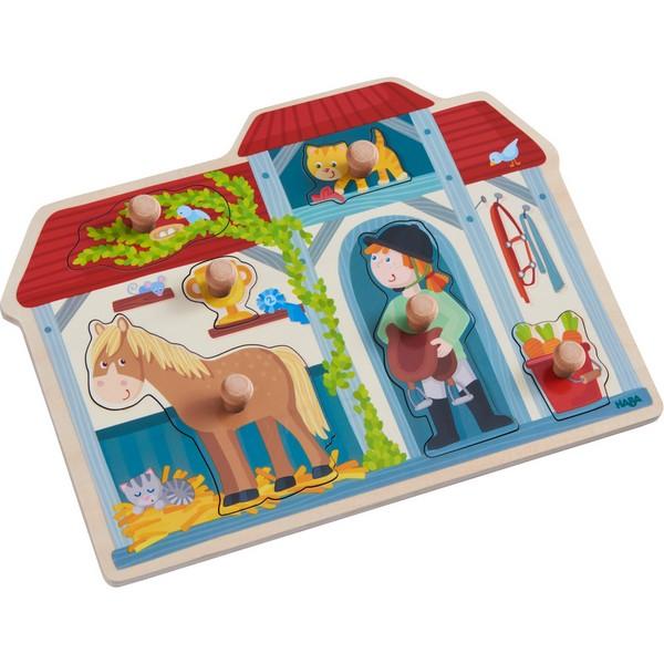 Inlegpuzzel In de Paardenstal