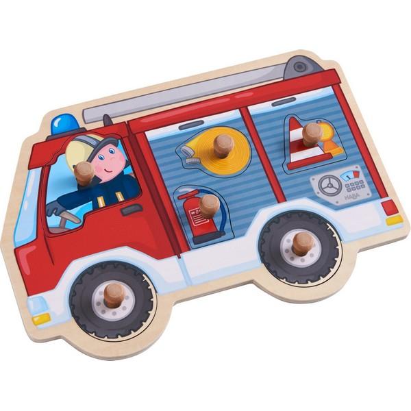 Inlegpuzzel Brandweerauto