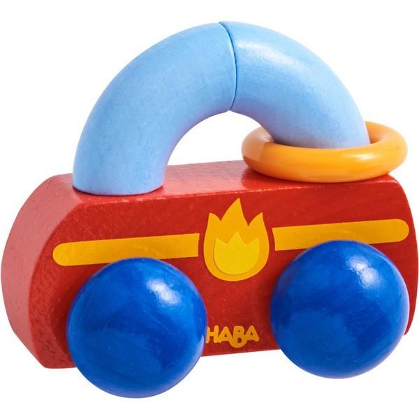 Grijpfiguur rammelaar hout Raceauto