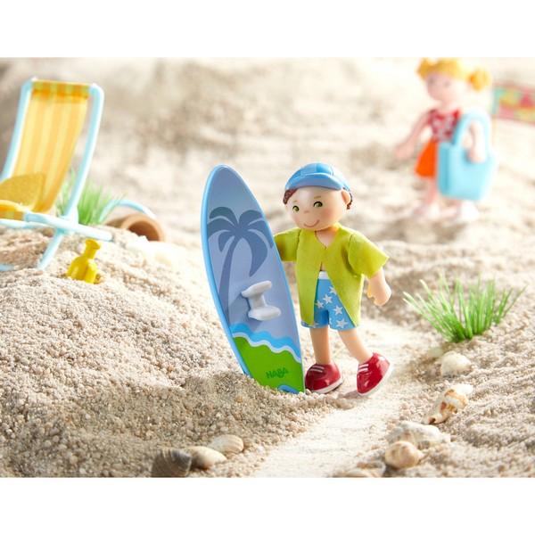 Little Friends Poppenhuispopje Colin de Surfer