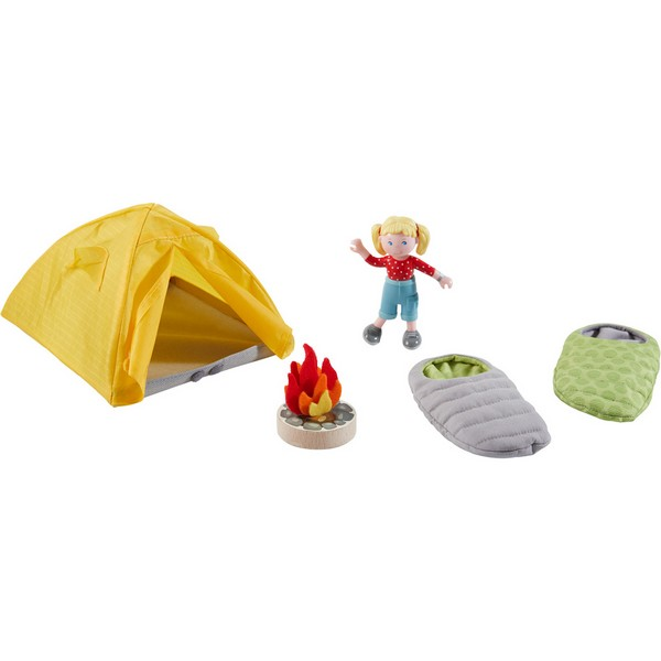 Little Friends Poppenhuis Speelset Camping