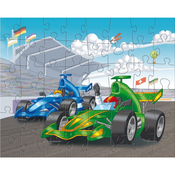 3-in-1-Puzzel Motorsport
